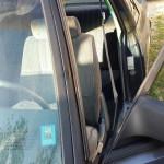 Front window trim