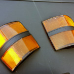 Painted indicator lenses